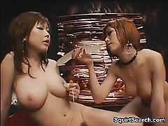 Elegant Japanese Lesbians Go..