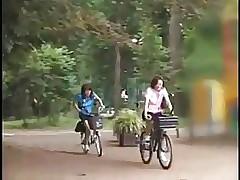 Riding Dildo Bike take Return