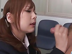 Miku Airi Asian schoolgirl..