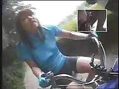 Riding dildo-bikes regarding..