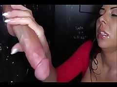 astonishing gloryhole cocksucking