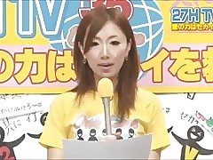 Japanese Reporter Fucked with..