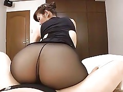 Japanese adult glowering pantyhose..