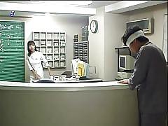 J girl-nurse close up shop nao..