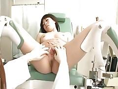 Shaved Japanese Gynecologist..