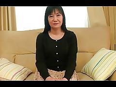 55yr grey Granny Natsu Sasamoto..