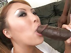 Asian chicks adore inky..