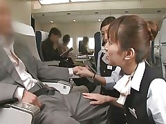 Handjob Airline SP - Making love..