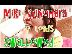 Miki Sunohara 7 piles swallowed