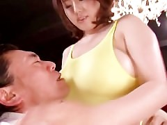 Well-endowed asian Rin Aoki in..