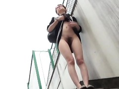 Watched asians pissing