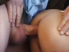 French Asian hitchhiker Fucked..
