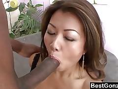 Asian Termagant Enjoys A..
