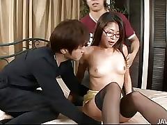 Hot Teen Mizuki Ogawa all over..