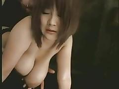 Saging breasts bountiful..