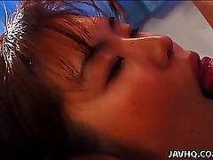 Despondent floosie Misato..