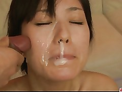 Down in the mouth milf Manami..